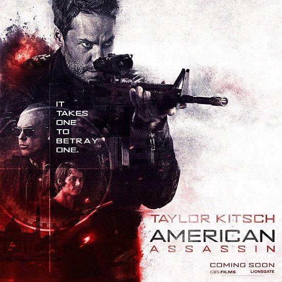American Assassin Taylor Kitsch Poster