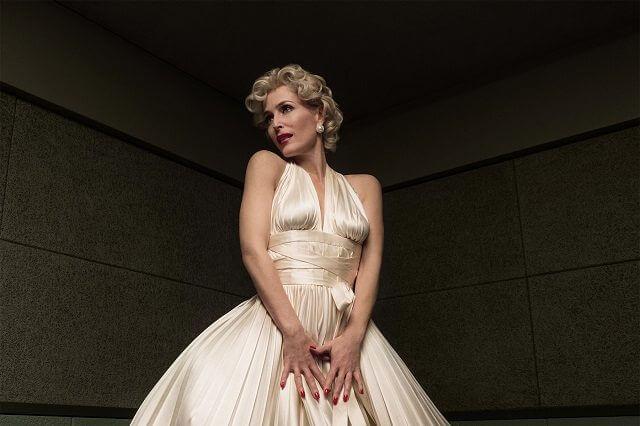 American Gods Season 1 Episode 5 Gillian Anderson Marilyn Monroe