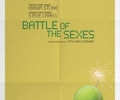 ผลการค้นหารูปภาพสำหรับ battle of the sexes movie poster
