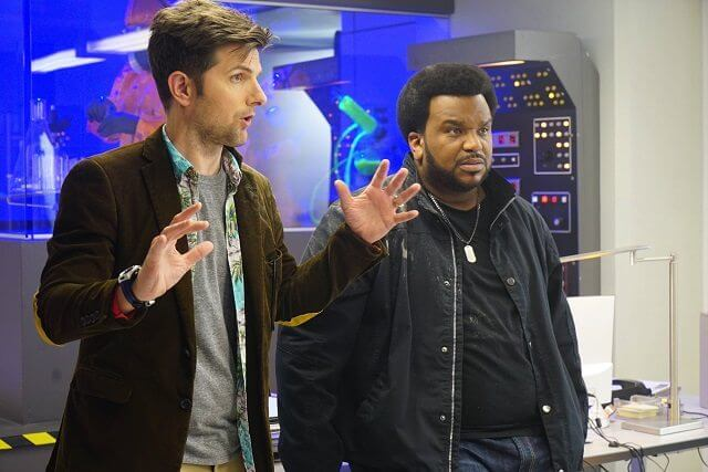 Ghosted Adam Scott and Craig Robinson