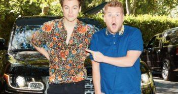 Harry Styles and James Corden Carpool Karaoke
