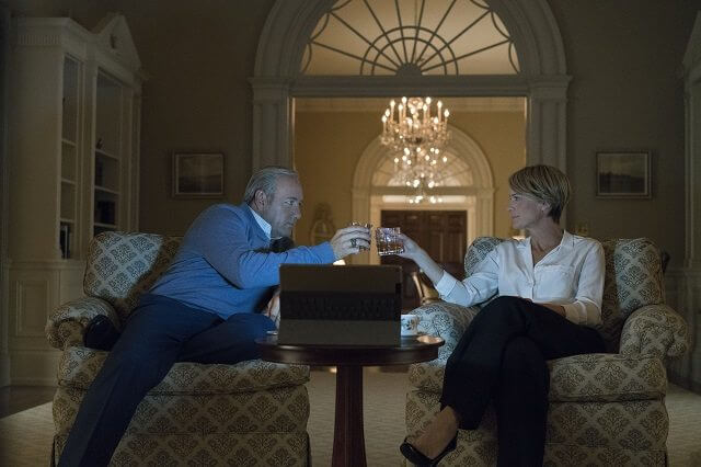House of Cards Season 5 Kevin Spacey and Robin Wright