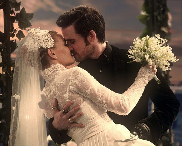Once Upon a Time Hook and Emma's Wedding