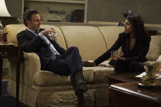 Scandal Tony Goldwyn and Kerry Washington