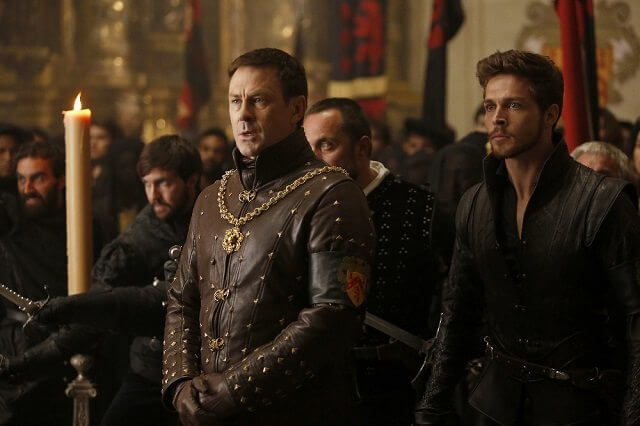 Still Star-Crossed Wade Briggs and Grant Bowler