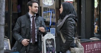 The Defenders Charlie Cox and Krysten Ritter