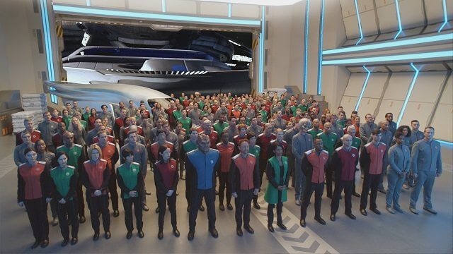 The Orville Cast Photo