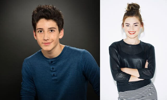 Zombies stars Milo Manheim and Meg Donnelly