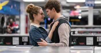 Baby Driver Ansel Elgort and Lily James