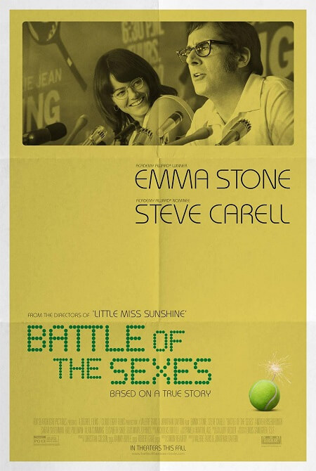 Battle of the Sexes Poster