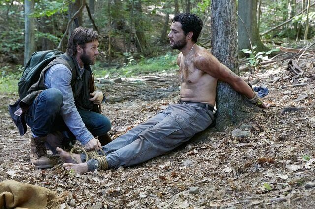 It Comes at Night Joel Edgerton and Christopher Abbott