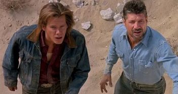 Tremors Kevin Bacon and Fred Ward
