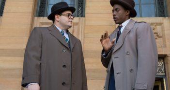 Marshall stars Chadwick Boseman and Josh Gad