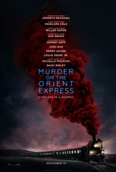 Murder on the Orient Express Movie Poster