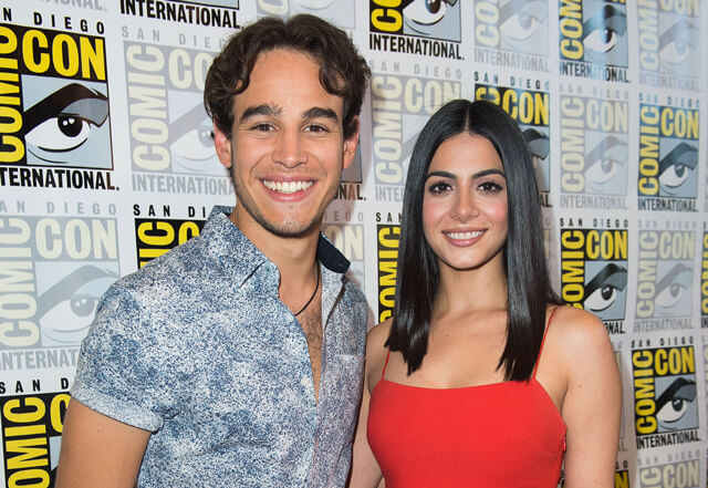 Shadowhunters stars Alberto Rosende and Emeraude Toubia