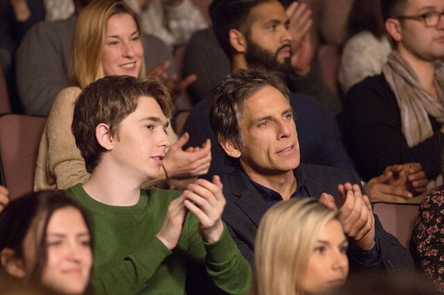 Brad's Status Ben Stiller and Austin Abrams