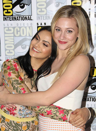 Riverdale star Camila Mendes and Lili Reinhart