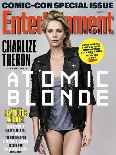 Atomic Blonde Charlize Theron at Comic Con