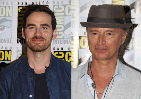 Once Upon a Time stars Colin O'Donoghue and Robert Carlyle