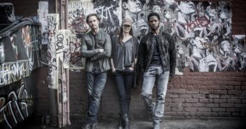 Colony stars Josh Holloway, Sarah Wayne Callies and Tory Kittles