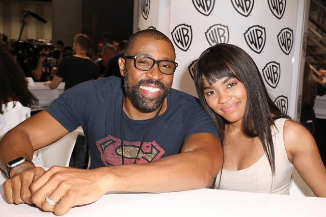 Black Lightning stars Cress Williams and China Anne McClain
