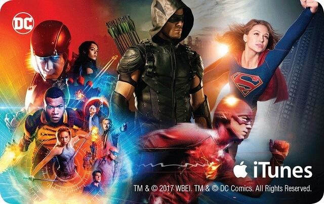 DCTV Comic Con Key Card