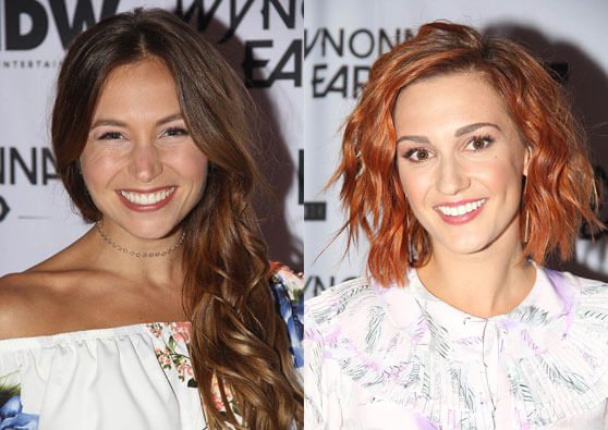 Wynonna Earp stars Dominique Provost-Chalkley and Katherine Barrell