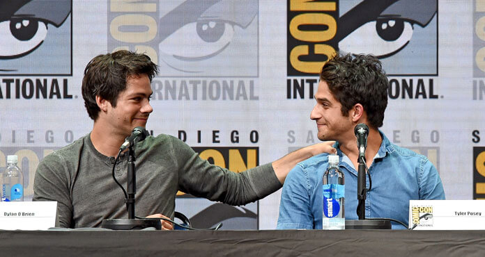 Teen Wolf stars Tyler Posey and Dylan O'Brien