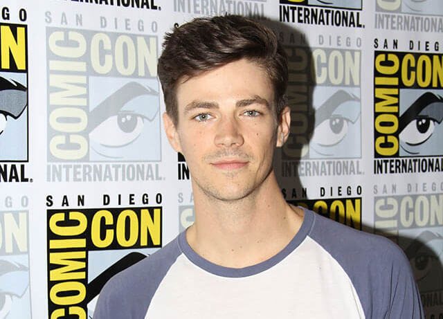 The Flash star Grant Gustin