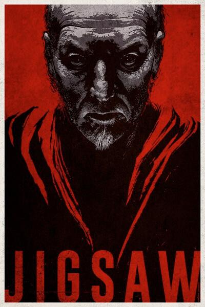 Jigsaw Tobin Bell Poster