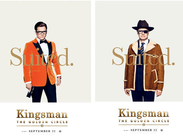 Kingsman: The Golden Circle SDCC Lineup & New Posters Revealed