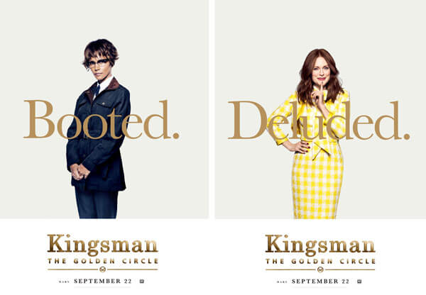 Kingsman: The Golden Circle Halle Berry and Julianne Moore Poster