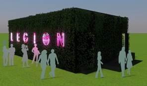 Legion IMR Experience Comic Con