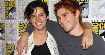 Riverdale stars K.J. Apa and Cole Sprouse