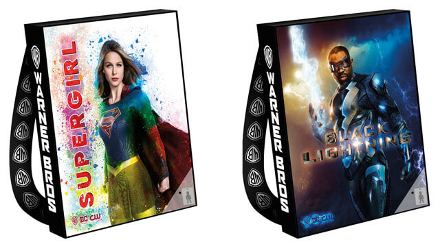 Supergirl and Black Lightning Comic Con Bags 2017