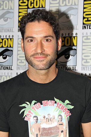 Lucifer star Tom Ellis at Comic Con