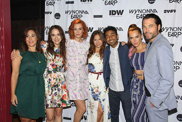 Wynonna Earp Emily Andras and Cast