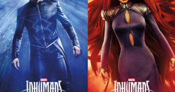 Inhumans Anson Mount and Serinda Swan