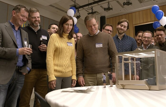 Downsizing plays at Telluride Film Festival