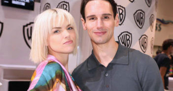 Gotham stars Erin Richards and Cory Michael Smith