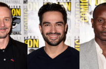 The Exorcist Ben Daniels, Alfonso Herrera and Kurt Egyiawan