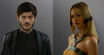 Marvel's Inhumans Iwan Rheon and Isabelle Cornish