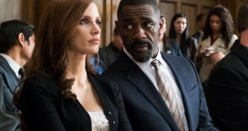 Molly's Game stars Jessica Chastain and Idris Elba