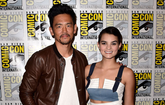 The Exorcist stars John Cho and Brianna Hildebrand