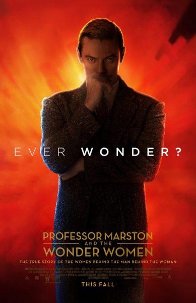 Professor Marston Luke Evans Poster