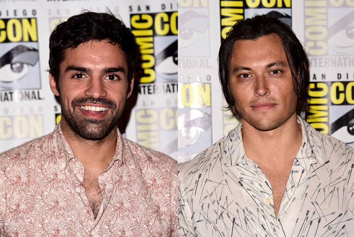 The Gifted Sean Teale and Blair Redford