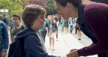 Wonder starring Julia Roberts and Jacob Tremblay