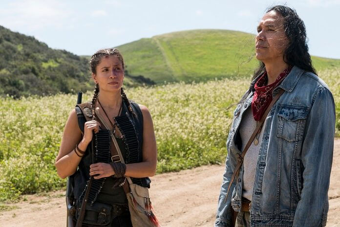 Fear the Walking Dead Season 3 Cast Interview