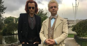 Good Omens stars David Tennant and Michael Sheen