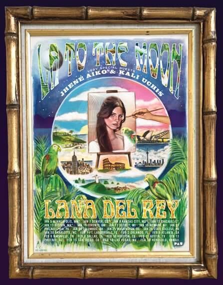 Lana Del Rey Concert Tour